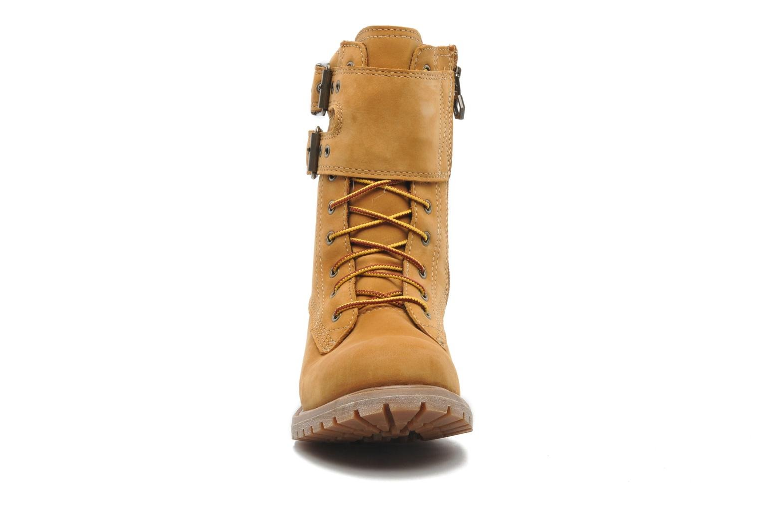 """Ankle boots Timberland Earthkeepers 6"""" Premium 8"""" Double Strap Brown model view"""