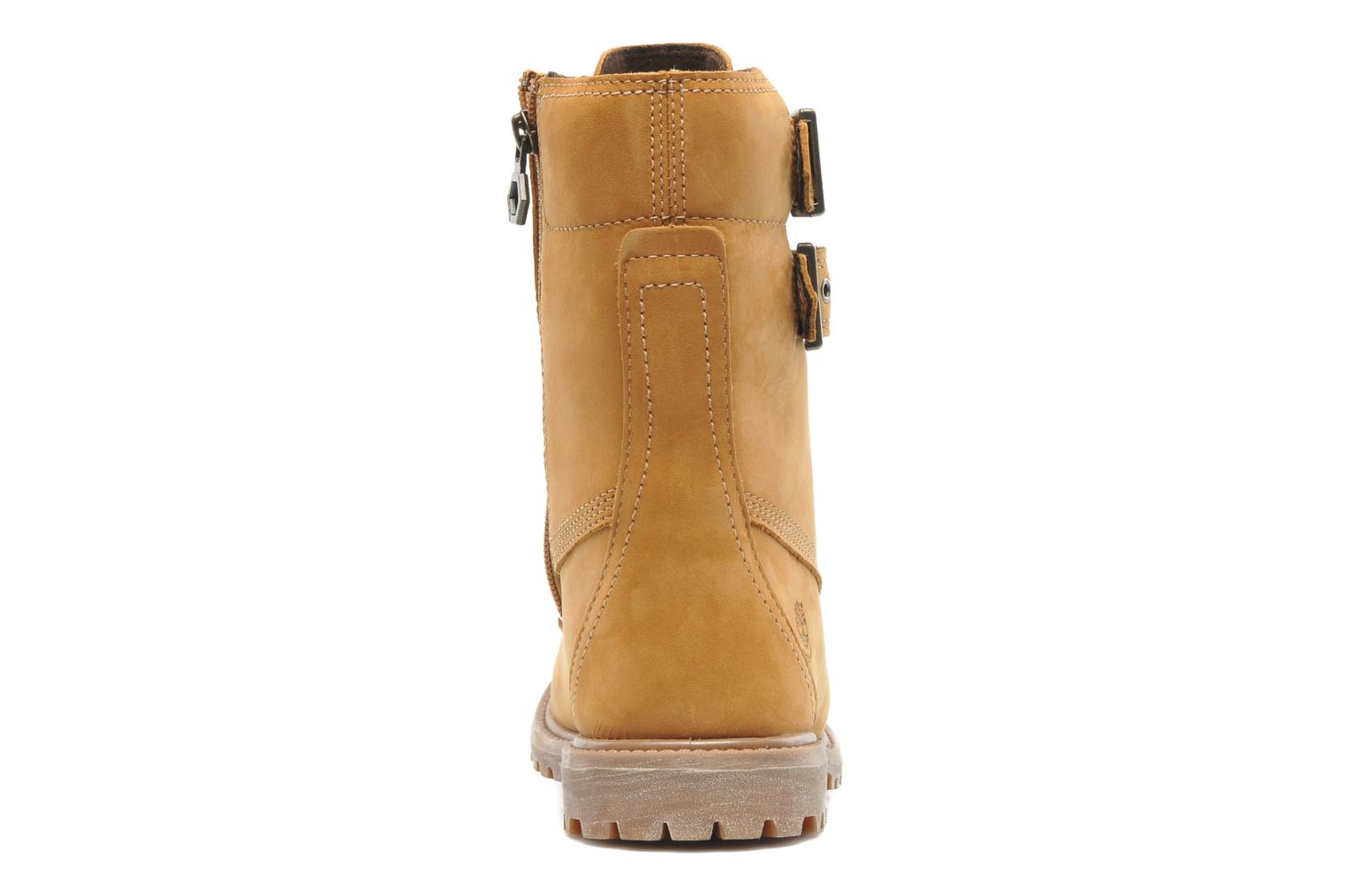 """Ankle boots Timberland Earthkeepers 6"""" Premium 8"""" Double Strap Brown view from the right"""