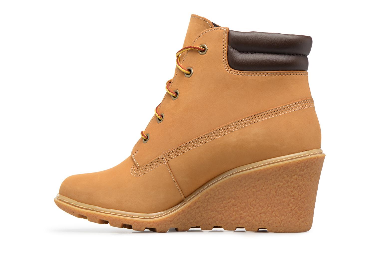 """Boots en enkellaarsjes Timberland Earthkeepers Amston 6"""" Boot Bruin voorkant"""