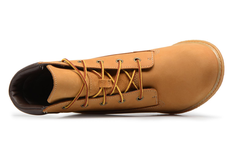 "Bottines et boots Timberland Earthkeepers Amston 6"" Boot Marron vue gauche"