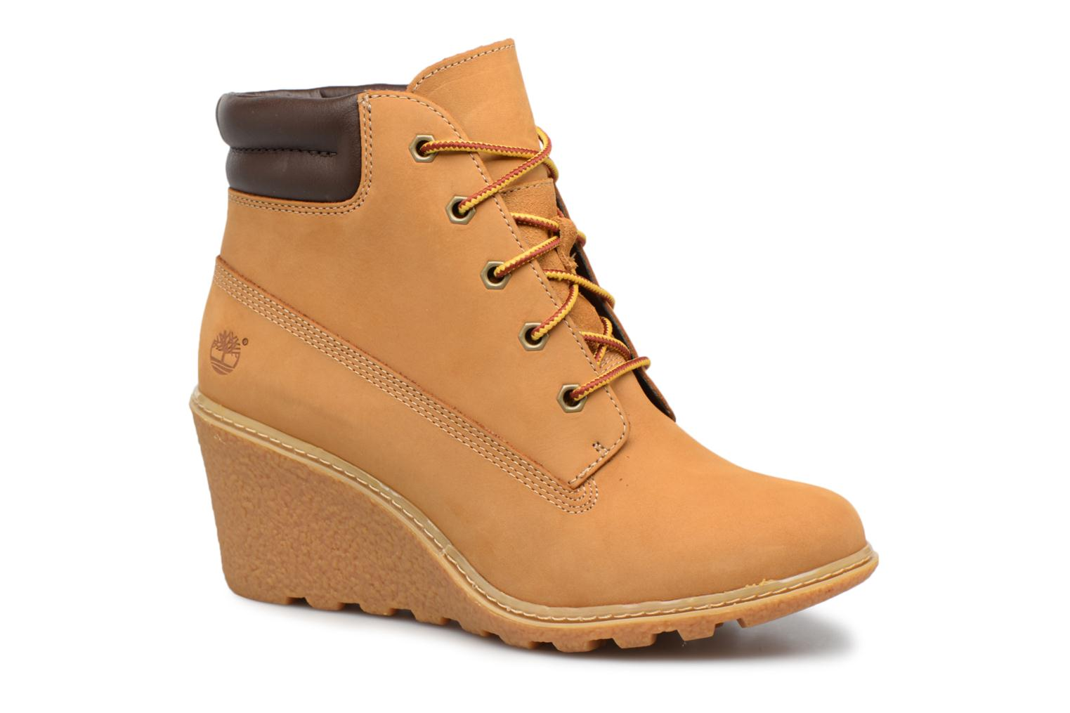 """Bottines et boots Timberland Earthkeepers Amston 6"""" Boot Marron vue détail/paire"""