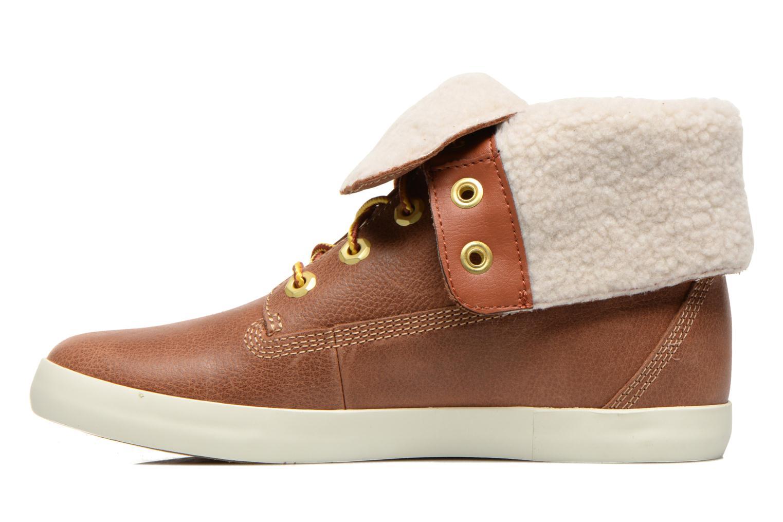 Boots en enkellaarsjes Timberland Earthkeepers Glastenbury Fold-Down Bruin voorkant
