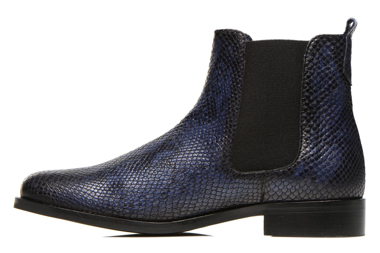 Bottines et boots PintoDiBlu Broche Bleu vue face