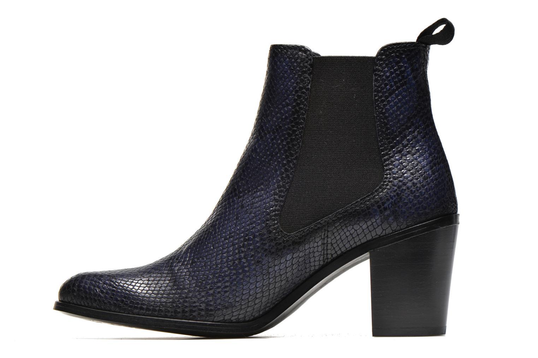 Bottines et boots PintoDiBlu Marlone Bleu vue face