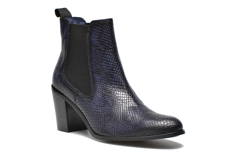 Bottines et boots PintoDiBlu Marlone Bleu vue détail/paire
