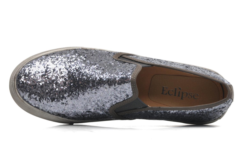 Sneaker Paillette Gris