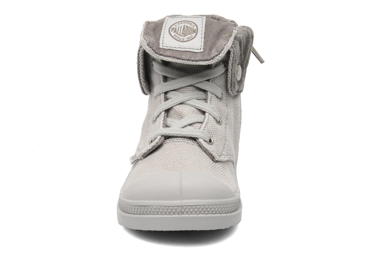 Bottines et boots Palladium Baggy Zipper BB Gris vue portées chaussures