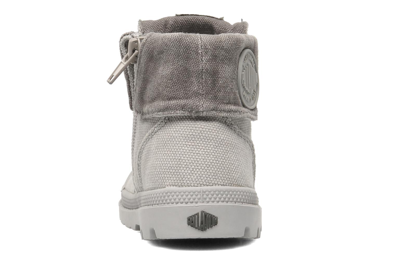 Boots en enkellaarsjes Palladium Baggy Zipper BB Grijs rechts