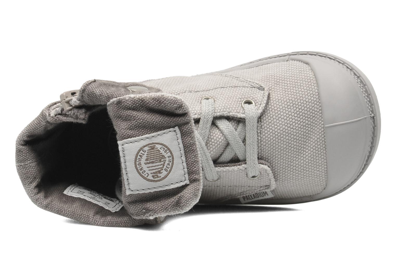 Boots en enkellaarsjes Palladium Baggy Zipper BB Grijs links