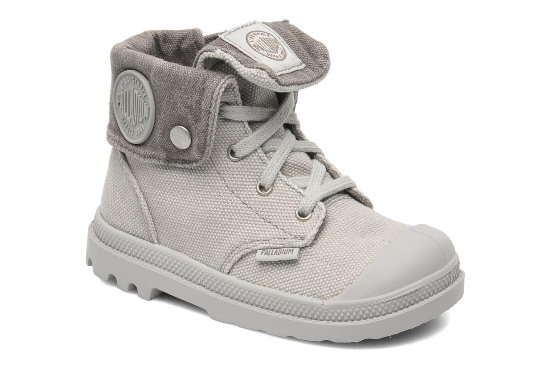 Bottines et boots Palladium Baggy Zipper BB Gris vue détail/paire
