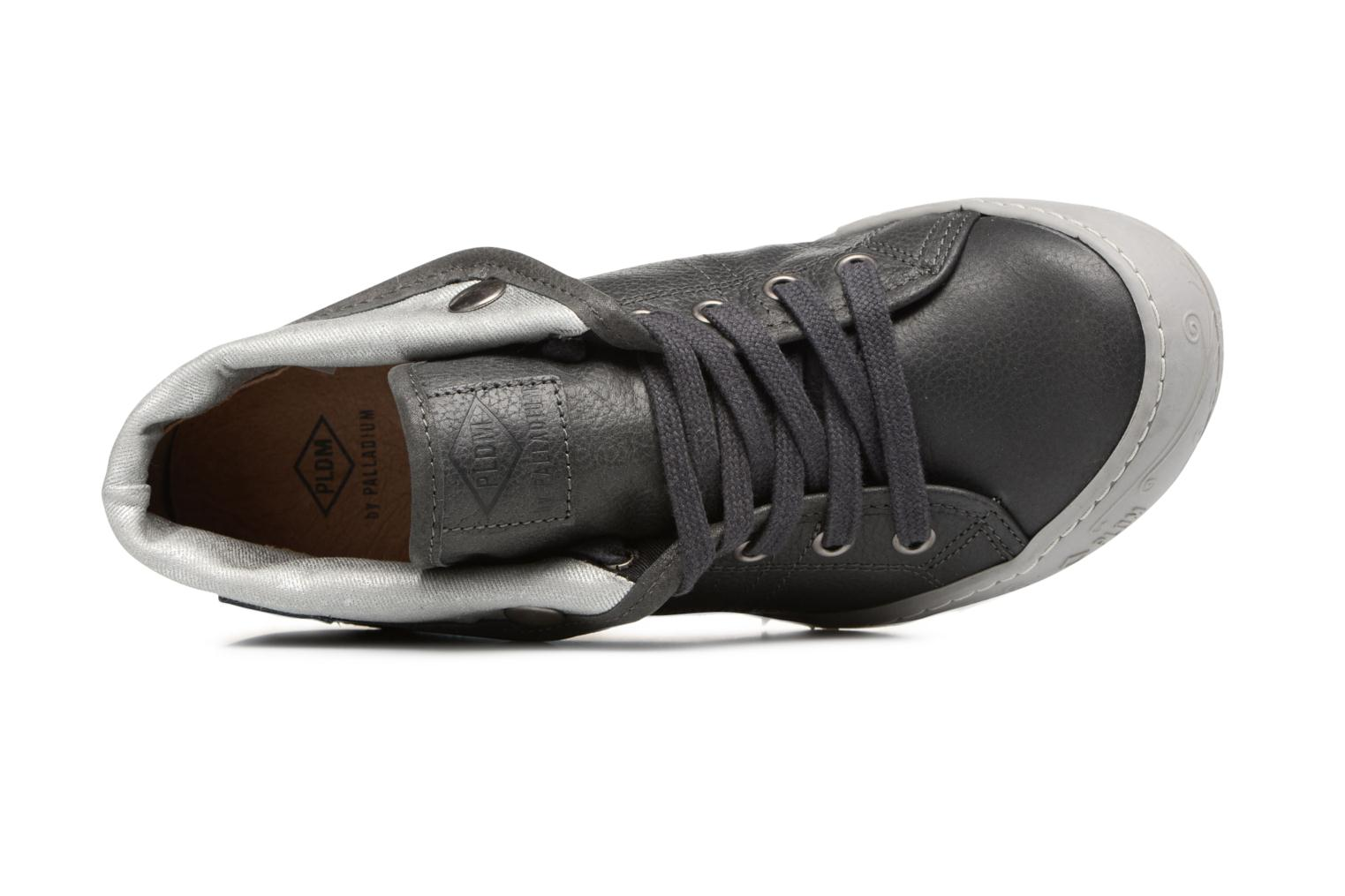 Sneakers P-L-D-M By Palladium Gaetane Emb Grijs links