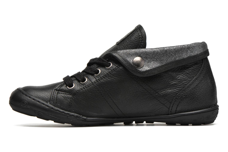 Sneakers P-L-D-M By Palladium Gaetane Emb Zwart voorkant