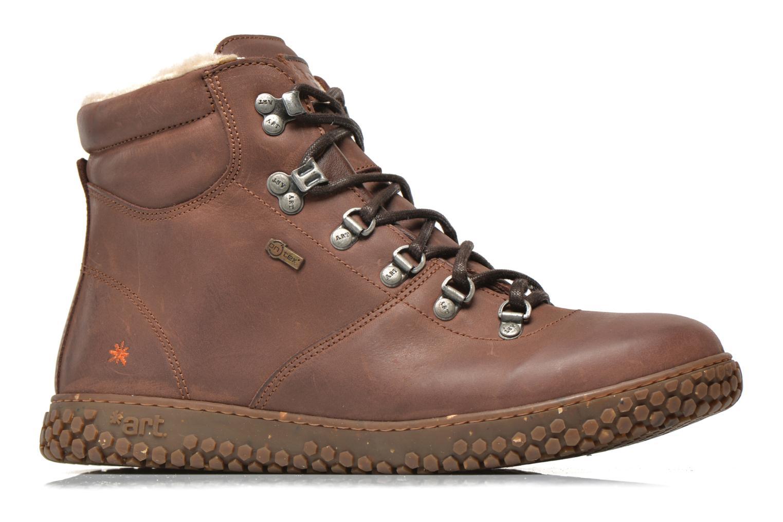 Boots en enkellaarsjes Art Edmonton 386 Bruin achterkant