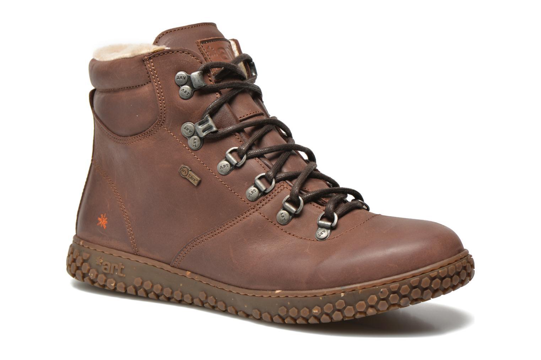 Boots en enkellaarsjes Art Edmonton 386 Bruin detail