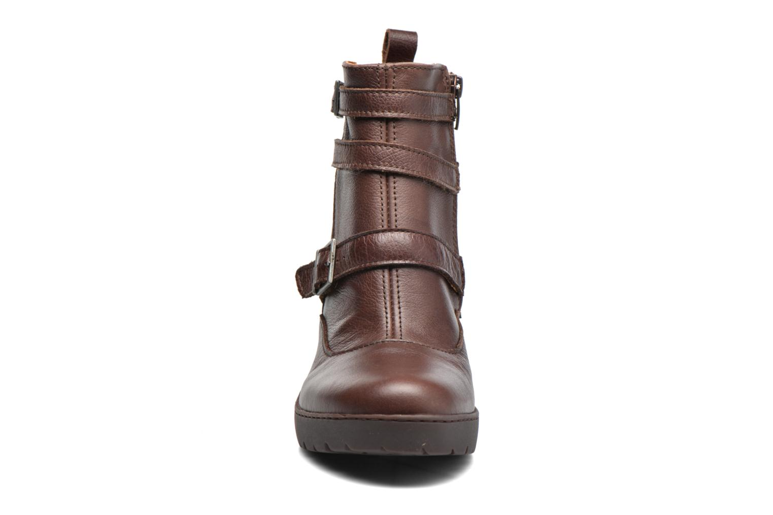 Ankle boots Art Travel 390 Brown model view