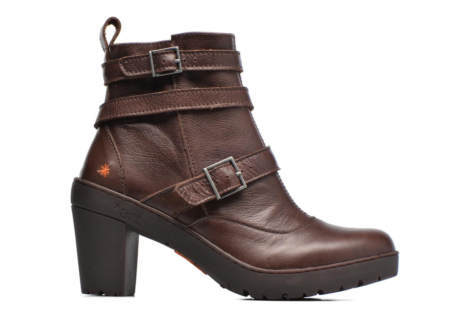Ankle boots Art Travel 390 Brown back view
