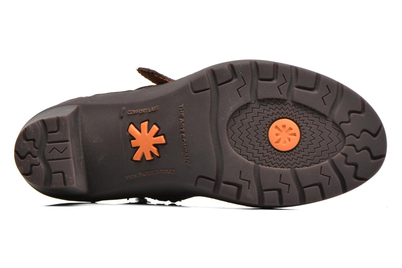 Bottines et boots Art Travel 390 Marron vue haut