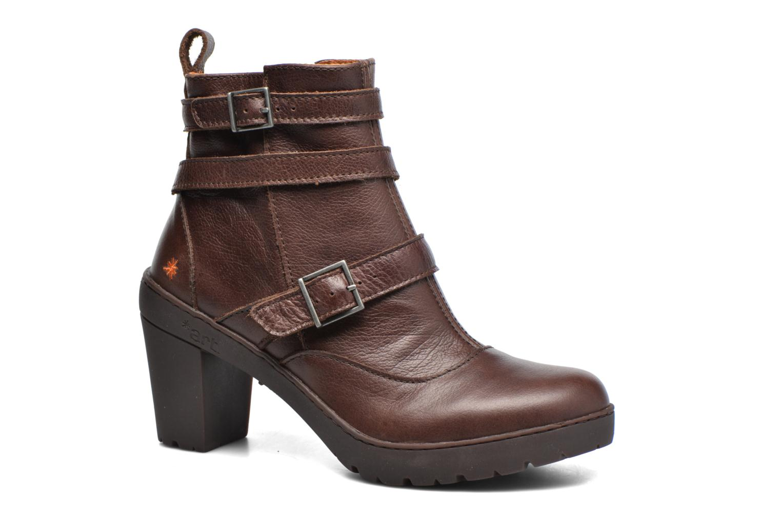 Ankle boots Art Travel 390 Brown detailed view/ Pair view