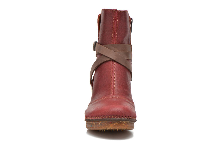 Bottines et boots Art Amsterdam 343 Rouge vue portées chaussures