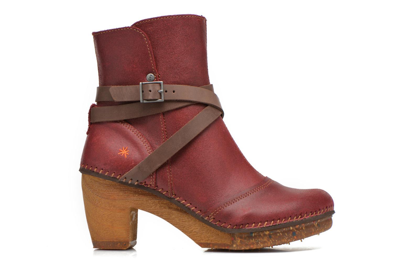Bottines et boots Art Amsterdam 343 Rouge vue derrière