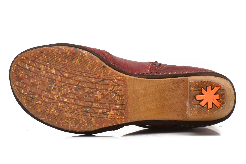 Bottines et boots Art Amsterdam 343 Rouge vue haut