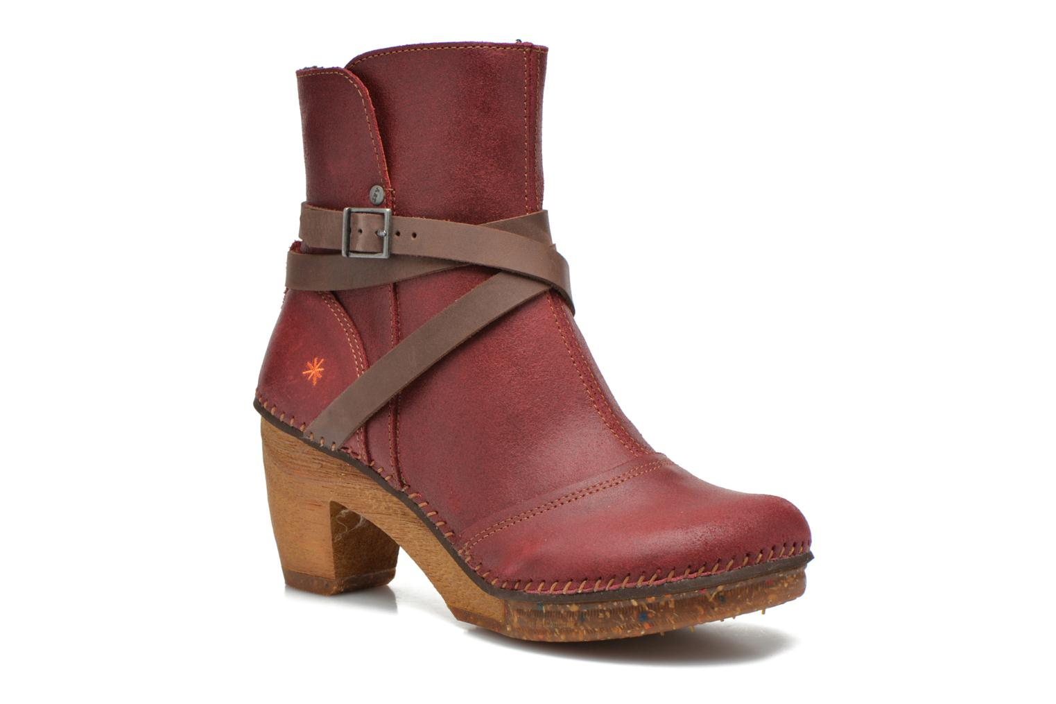 Ankle boots Art Amsterdam 343 Red detailed view/ Pair view