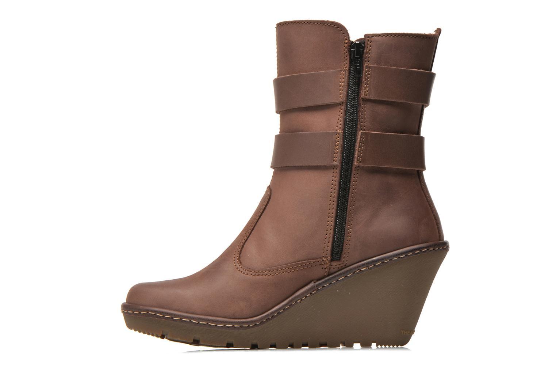 Bottines et boots Art Vitoria 243 Marron vue face