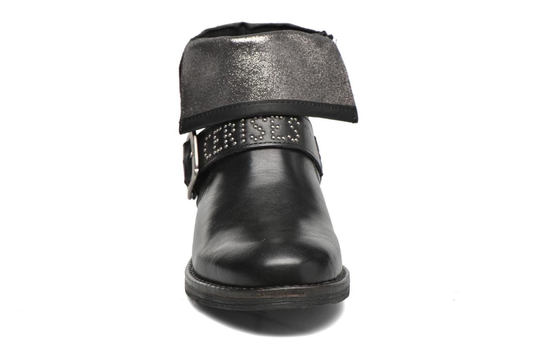Boots en enkellaarsjes Le temps des cerises Janis Zwart model