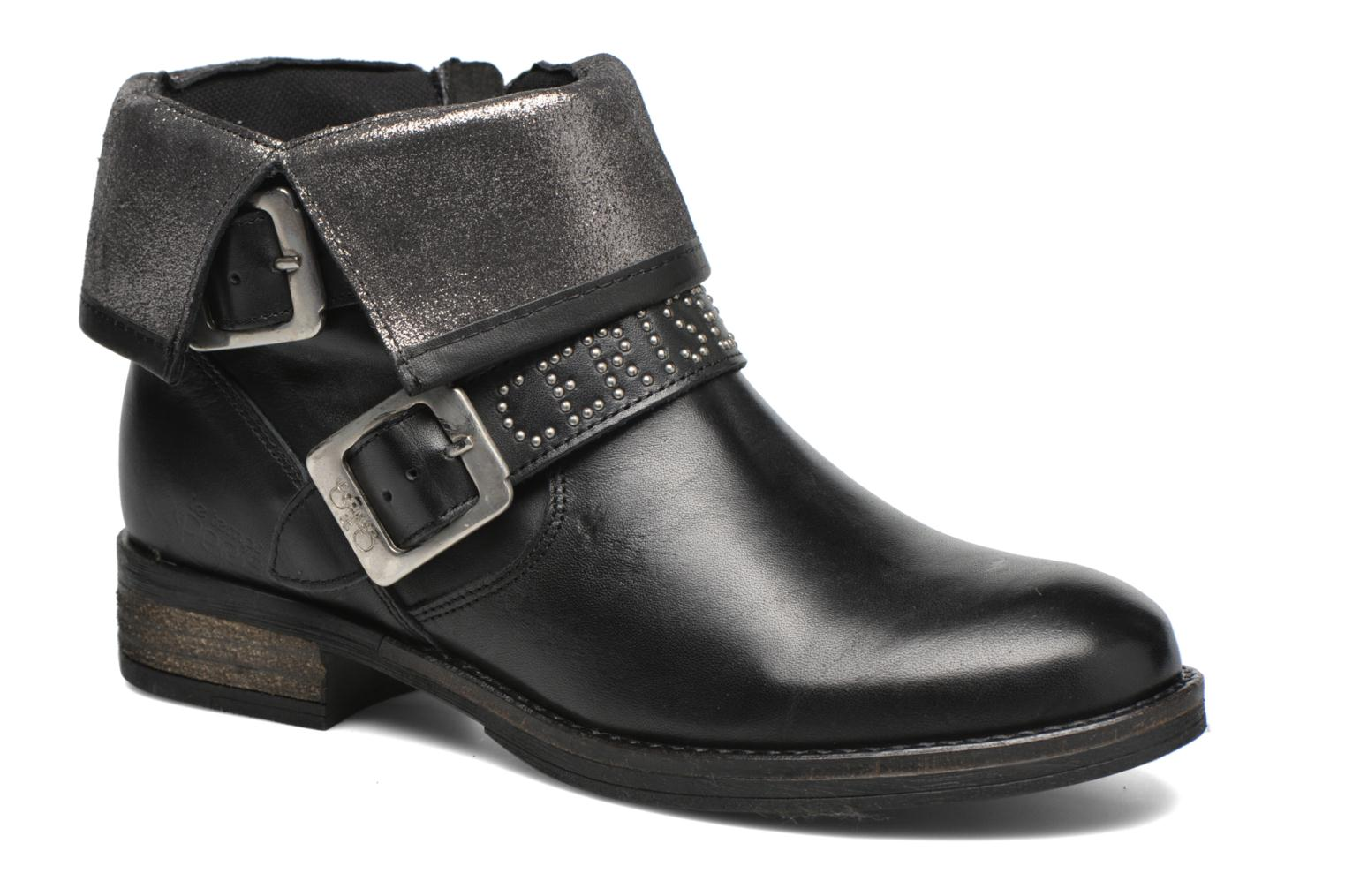 Janis Leather Black