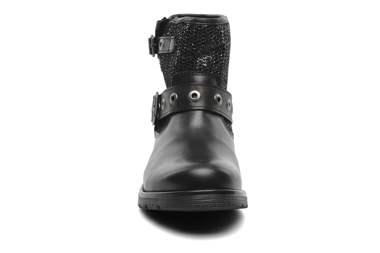 Bottines et boots Le temps des cerises Clea Noir vue portées chaussures