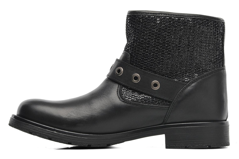 Boots en enkellaarsjes Le temps des cerises Clea Zwart voorkant