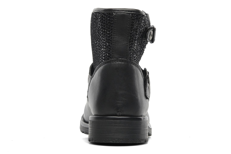 Bottines et boots Le temps des cerises Clea Noir vue droite