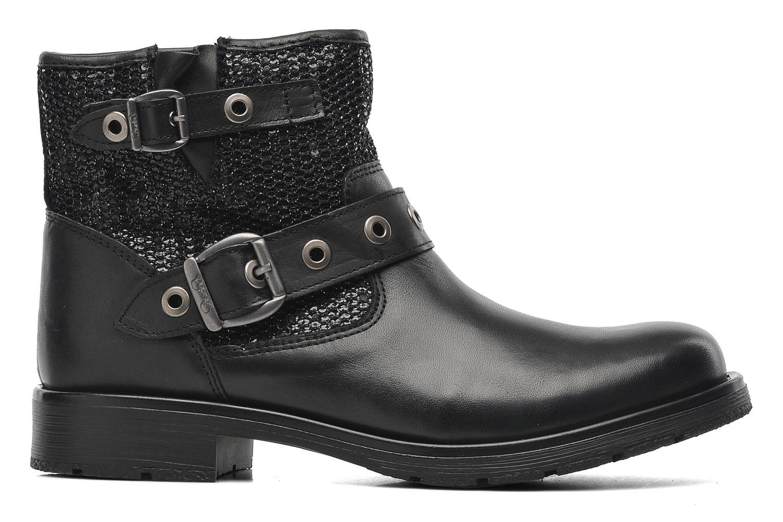 Boots en enkellaarsjes Le temps des cerises Clea Zwart achterkant