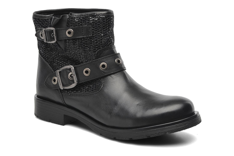 Boots en enkellaarsjes Le temps des cerises Clea Zwart detail