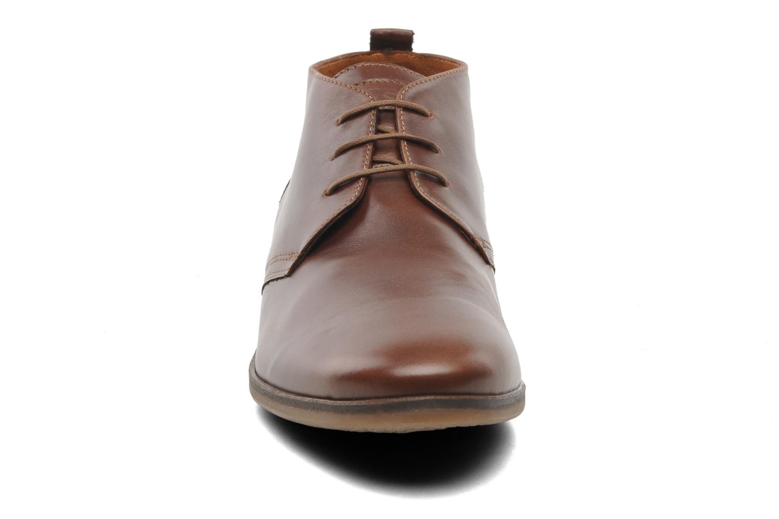 Ankle boots Kost Merle 67 Brown model view