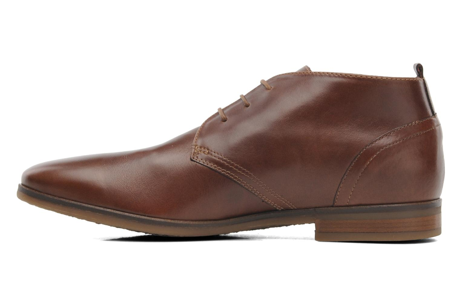 Ankle boots Kost Merle 67 Brown front view