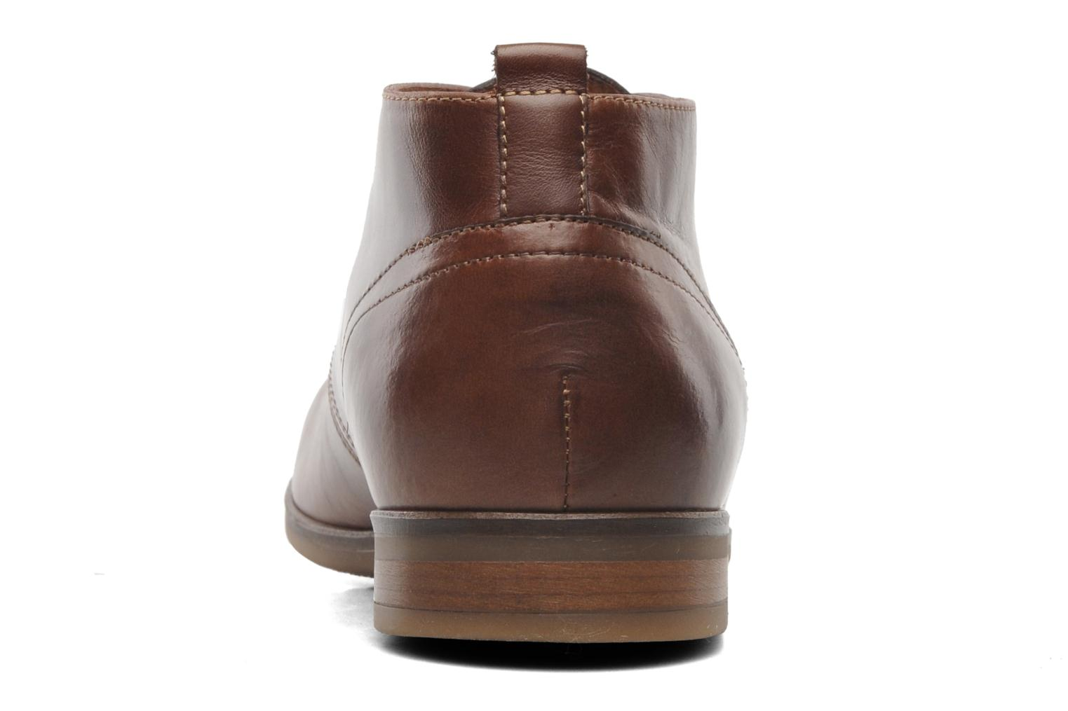 Ankle boots Kost Merle 67 Brown view from the right