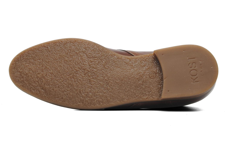 Stiefeletten & Boots Kost Merle 67 braun ansicht von oben