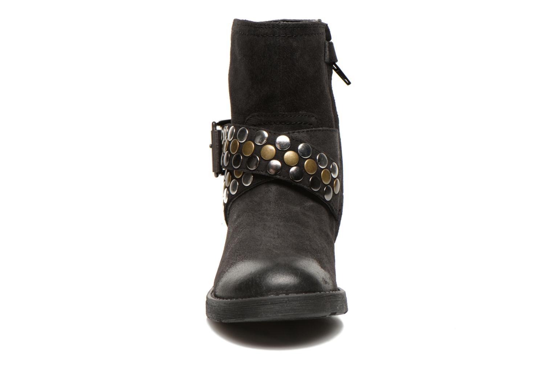 Stiefeletten & Boots Geox JR SOFIA B schwarz schuhe getragen