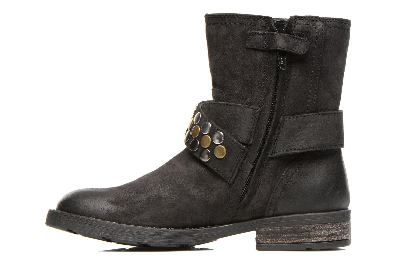 Stiefeletten & Boots Geox JR SOFIA B schwarz ansicht von vorne