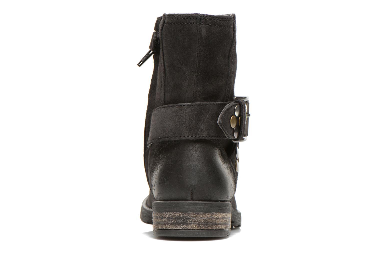 Stiefeletten & Boots Geox JR SOFIA B schwarz ansicht von rechts