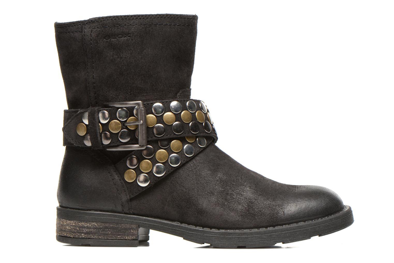 Stiefeletten & Boots Geox JR SOFIA B schwarz ansicht von hinten