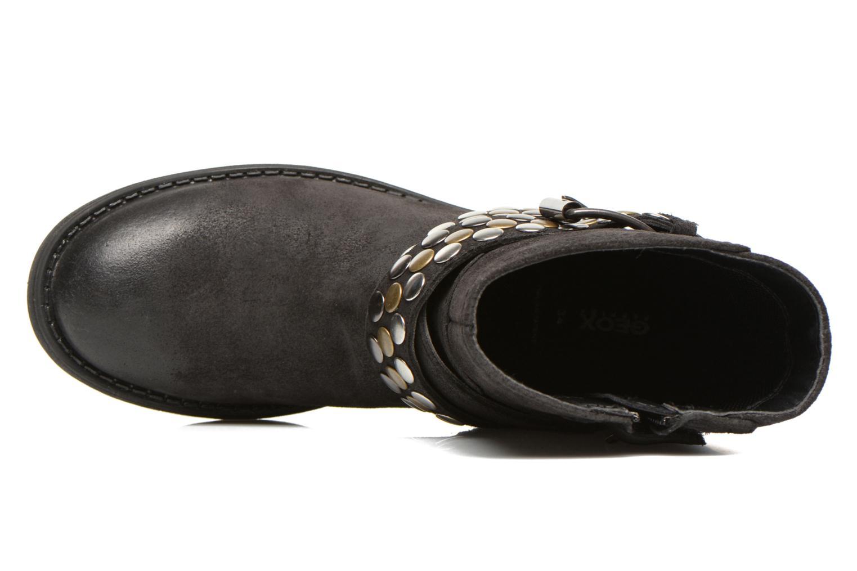 Stiefeletten & Boots Geox JR SOFIA B schwarz ansicht von links