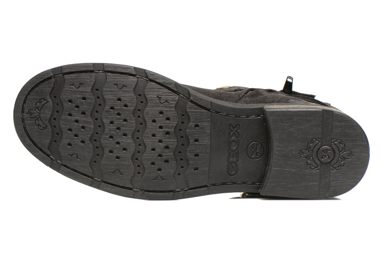Stiefeletten & Boots Geox JR SOFIA B schwarz ansicht von oben