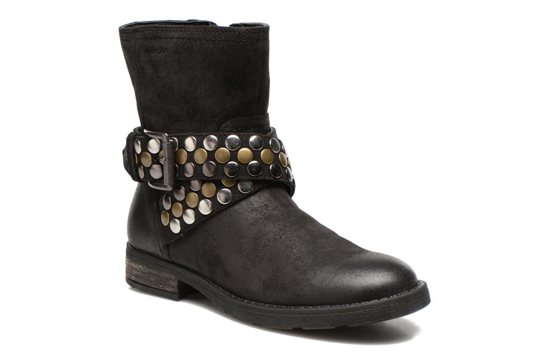 Stiefeletten & Boots Geox JR SOFIA B schwarz detaillierte ansicht/modell