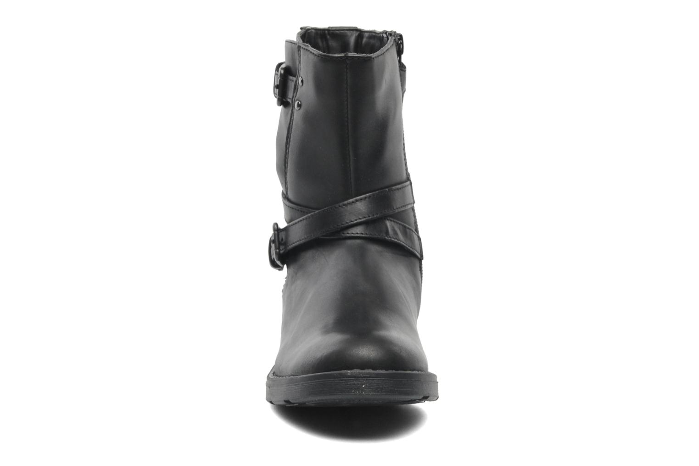 Stiefeletten & Boots Geox JR SOFIA I schwarz schuhe getragen