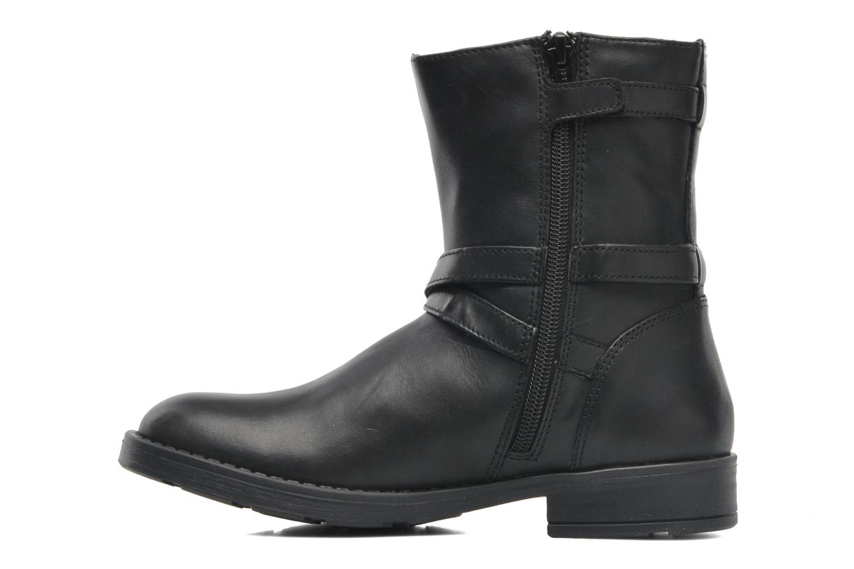 Stiefeletten & Boots Geox JR SOFIA I schwarz ansicht von vorne