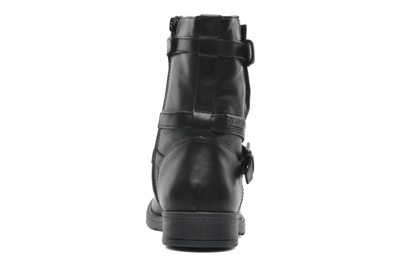 Stiefeletten & Boots Geox JR SOFIA I schwarz ansicht von rechts