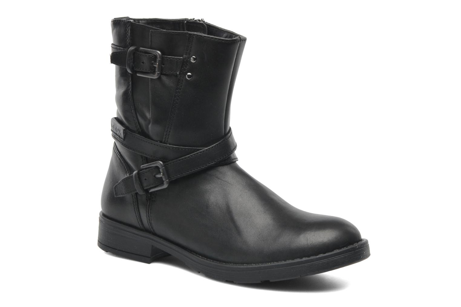 Ankle boots Geox JR SOFIA I Black detailed view/ Pair view