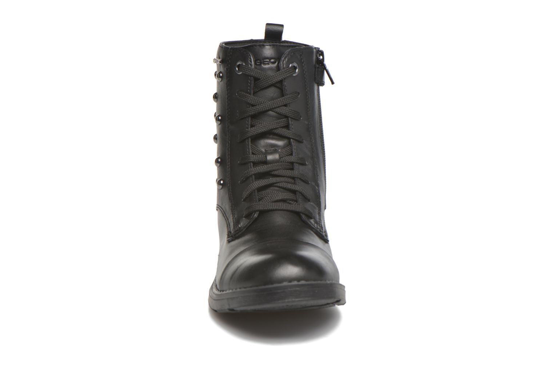 Bottines et boots Geox JR SOFIA J Noir vue portées chaussures